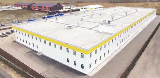 Производственной площадь в г.Санкт-Петербурге более 2-х тысяч квадратных метров.